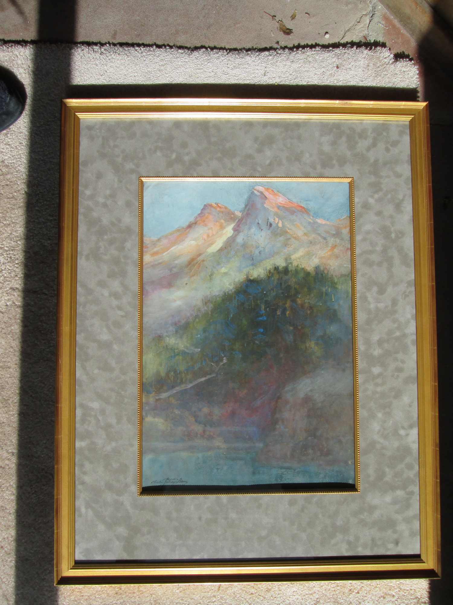 (Untitled) Mountain Scene
